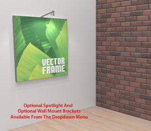Vector Square Frame 2 Display - Alternate Product View 1