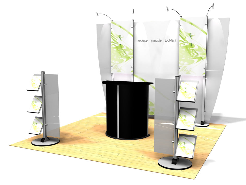 10.02 Exhibitline 10' x 10' Trade Show Display Package