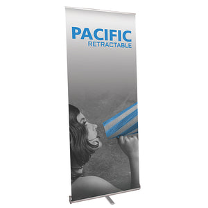 Pacific 920 Banner Stand - Up Close