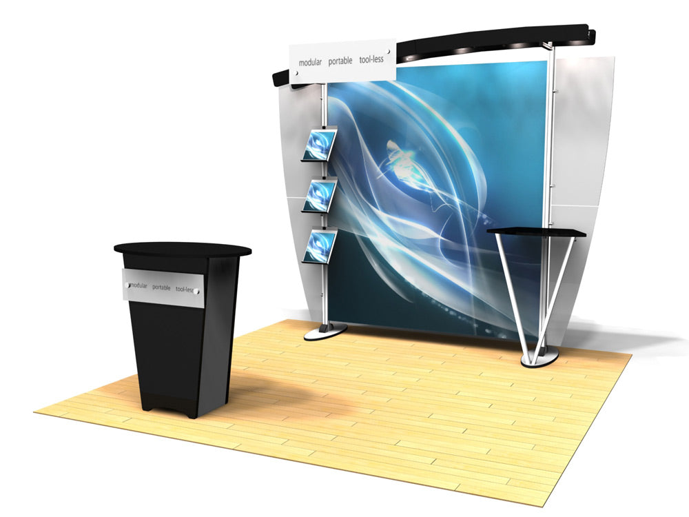 10.06 Exhibitline 10' x 10' Trade Show Display Package