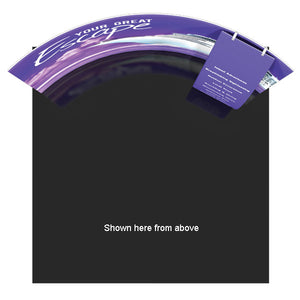 Formulate HC10 10' x 10' Horizontally Curved Trade Show Display - Product View 3