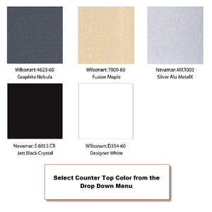 XRW.0.1 XRline 10' x 10' Trade Show Display - Counter Top Color Swatch