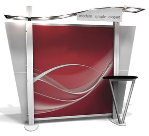XRW.0.V XRline 10' x 10' Trade Show Display - Alternate View 1