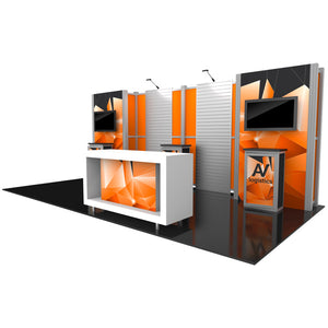 Hybrid Pro Modular Trade Show Exhibit Kit 16  - Product View 3