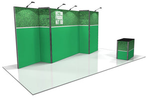 Vector Frame 8 10' x 20' Trade Show Display Kit