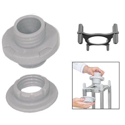 Orbital Express Truss Double Sided Screw With Cap & Spacer