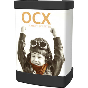 OCX Standard Wheeled Display Case Roll Wrap - Right Side View