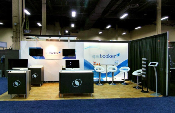 Spa Booker Booth