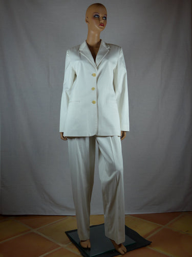 Philippe Adec 1980s jacket and slacks.