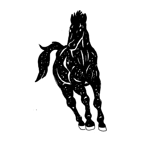 How To Draw A Galaxy Horse Yllustrations