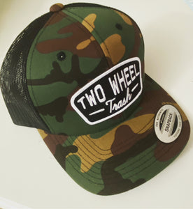 Classic Patch Camo Curved Bill Trucker