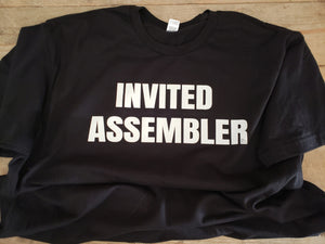 Invited Assembler Black Shirt