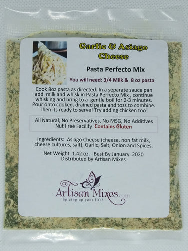 Garlic & Asiago Cheese Pasta Perfecto