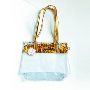 Stadium Tote Bag - Gold