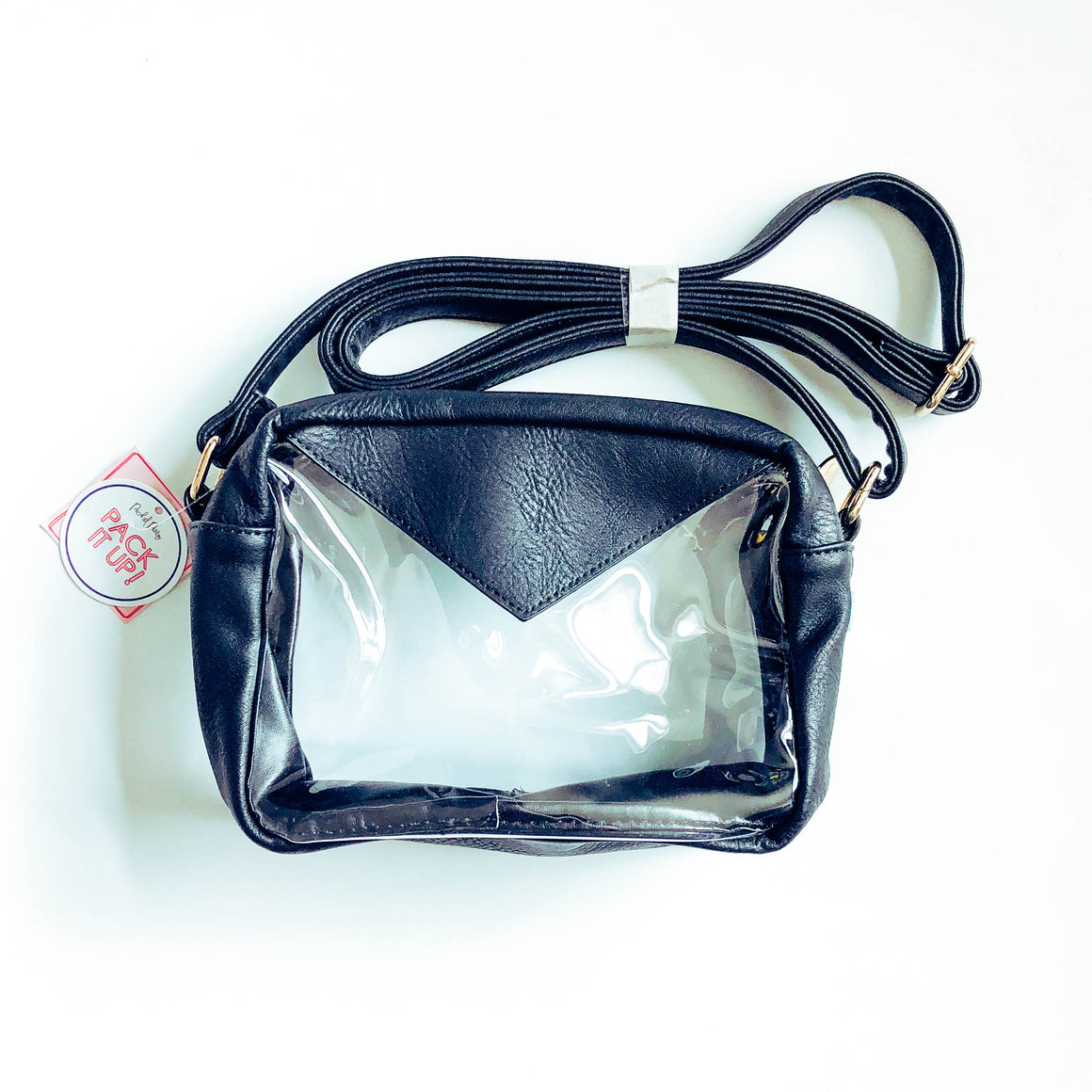 Stadium Crossbody Bag - Black