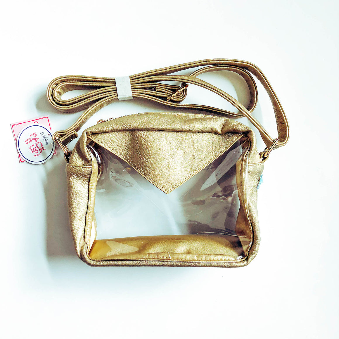 Stadium Crossbody Bag - Gold
