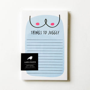 Things to Juggle Notepad
