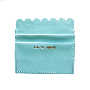 Ka-Chiiing Scalloped Card Holder