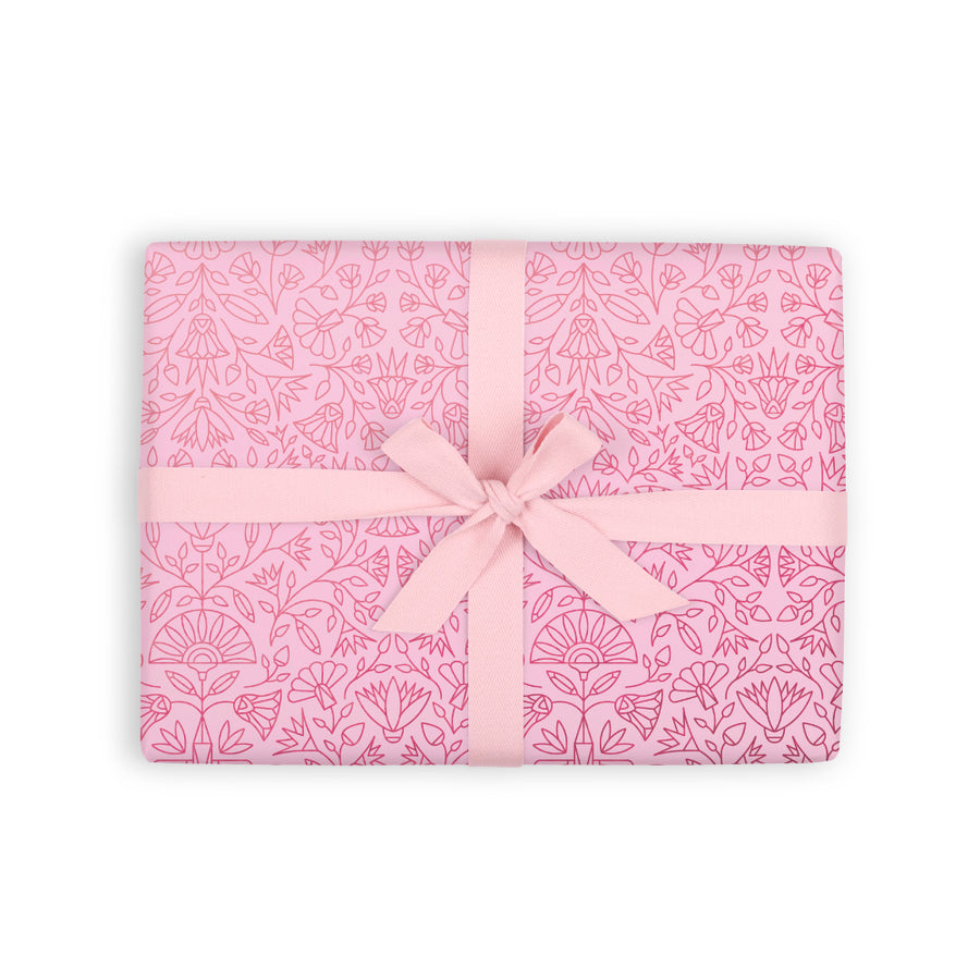 Eqyptian Rose Gift Wrap - Roll