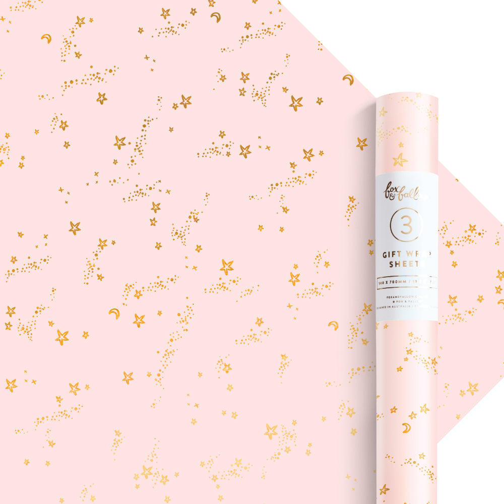 Stardust Gift Wrap - Roll