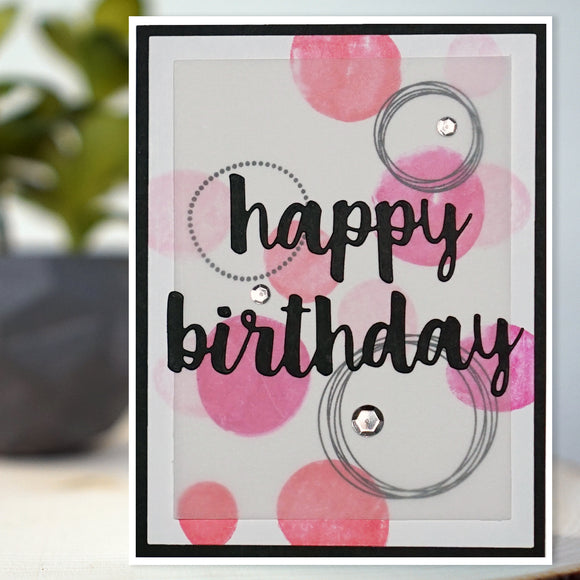 Birthday Bubbles Card