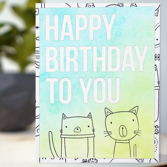 Purrfect Birthday Card