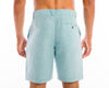 <b>Linen Shorts</b><br> Sea Blue - QVINTO