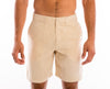 <b>Linen Shorts</b><br> Light Beige - QVINTO