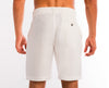<b>Linen Shorts</b><br> White - QVINTO