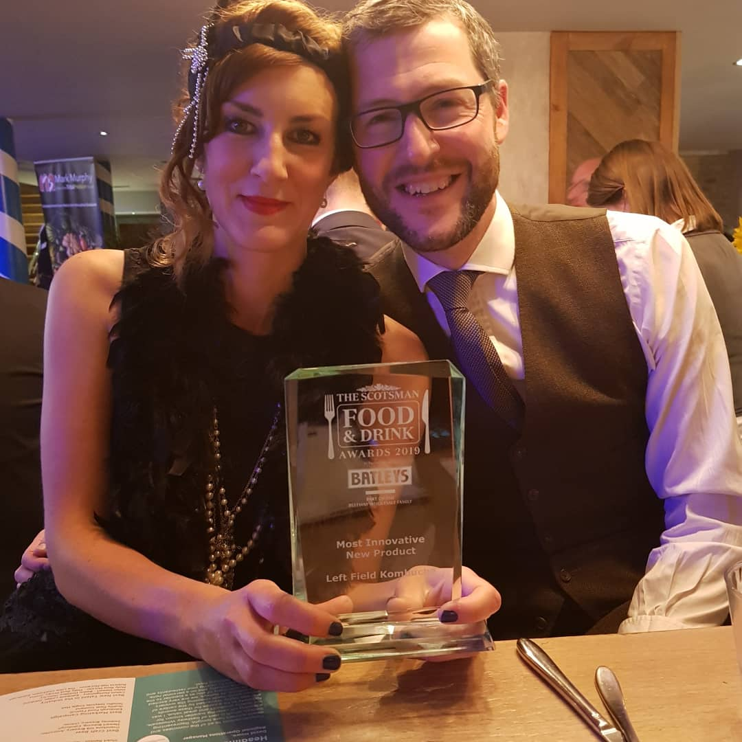 Winners at The Scotsman Food & Drink Awards 2019: Left Field Kombucha