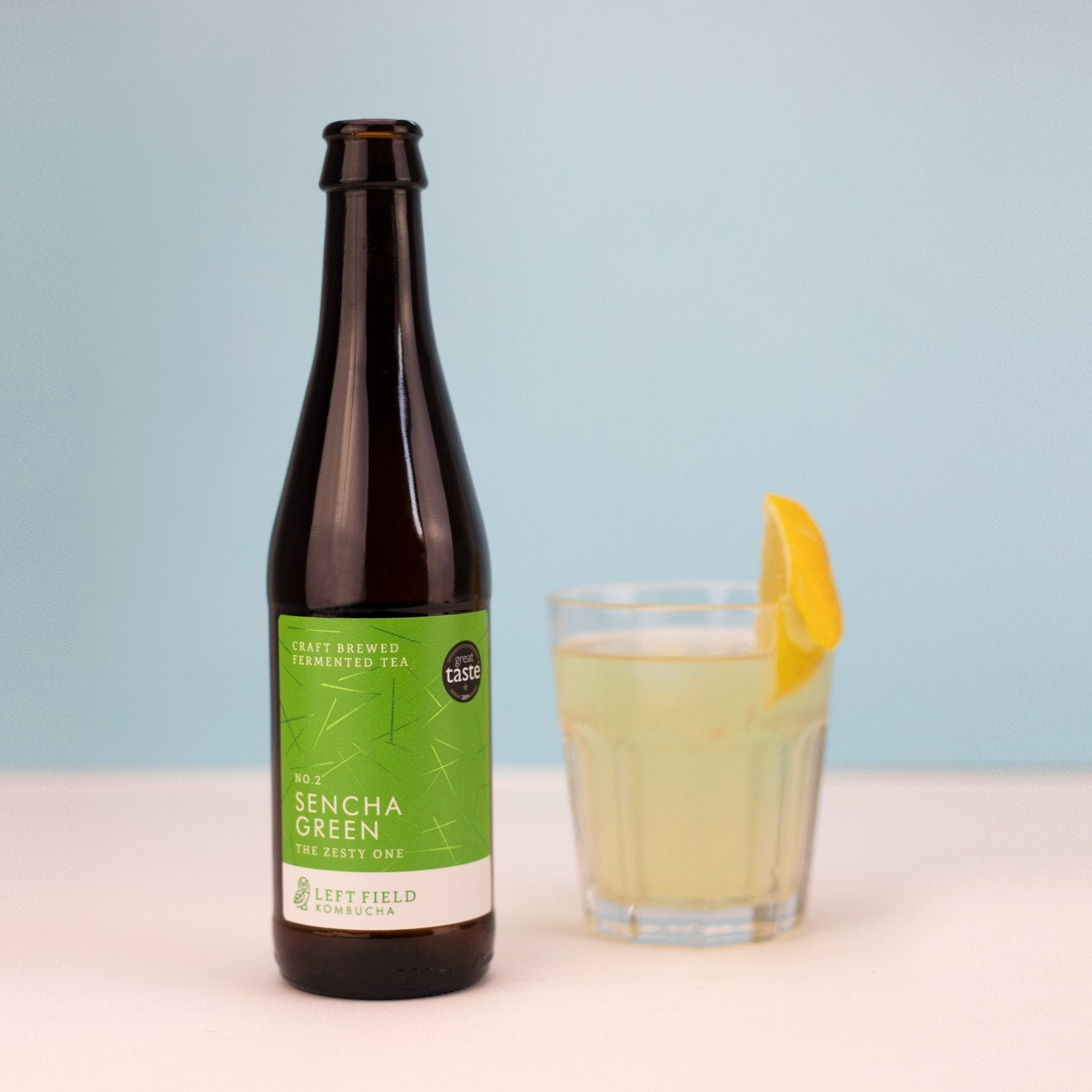 No.2 Sencha Green kombucha tea