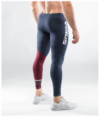 MEN'S STAY COOL COMPRESSION PANTS (RX8)- MAROON