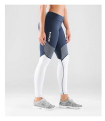 WOMEN'S STAY COOL V2 COMPRESSION PANT (ECO21.5)- NAVY/WHITE
