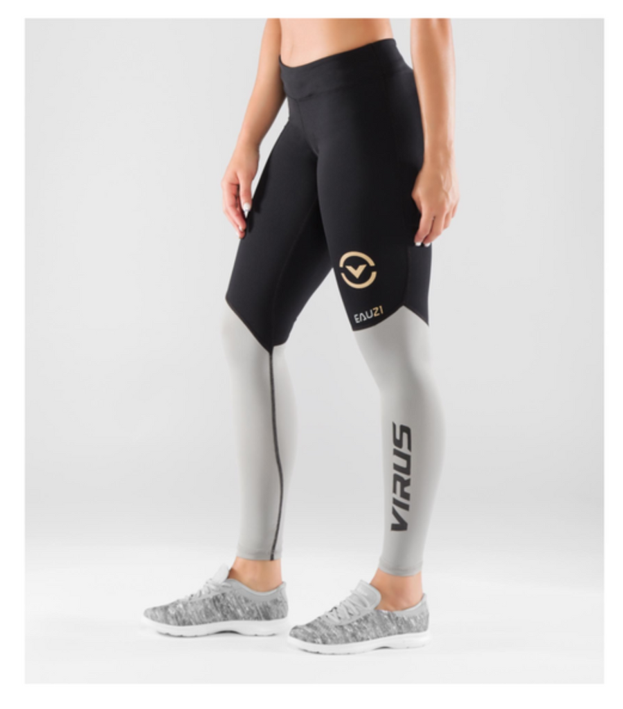 EAU21 -WMNS BIO V2 TECH PANT BLACKGREY