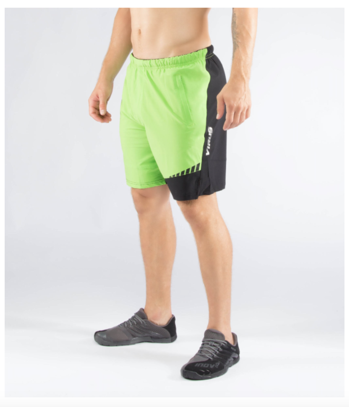 MEN'S ORIGIN ACTIVE SHORT (ST3) LIME GREEN