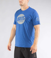 (PC21) MEN'S OUTCAST PREMIUM TEE - BLUE/GREY