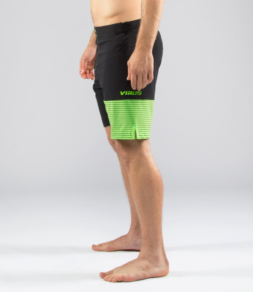 MENS HYDRO PERFORMANCE SHORTS - GREEN