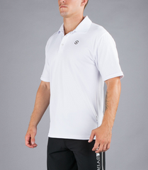 MEN'S STAY COOL FUNCTIONAL FIT POLO V2 / WHITE
