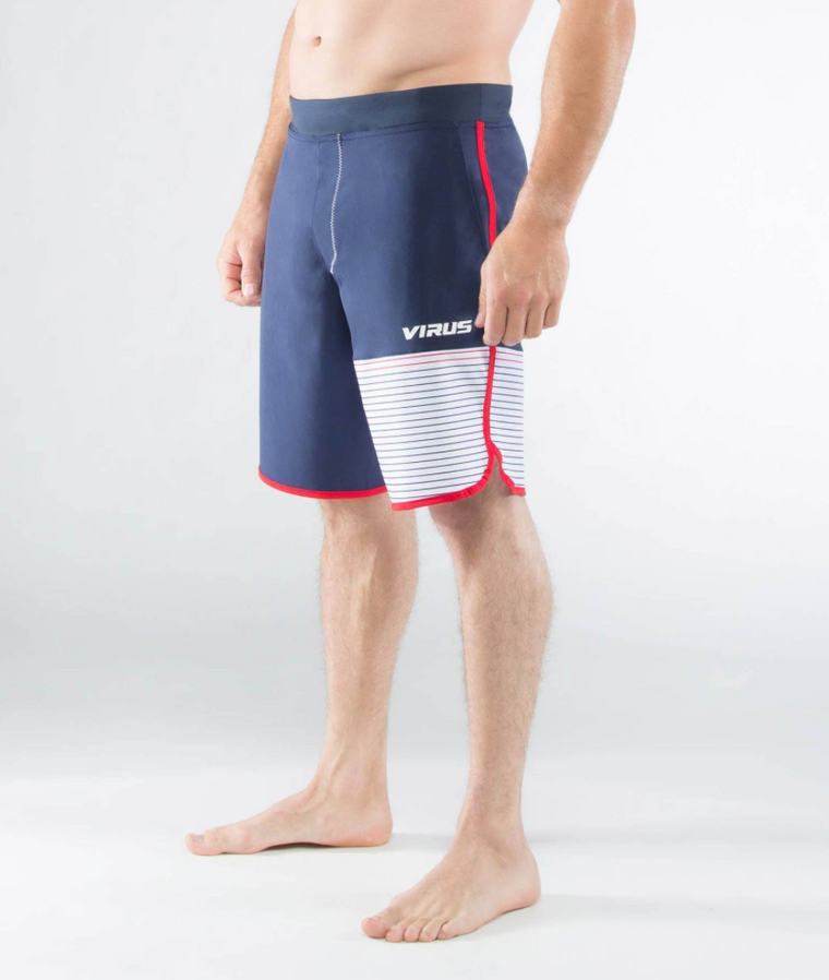MEN'S VELOCITY SHORT (ST5) NAVY/RED