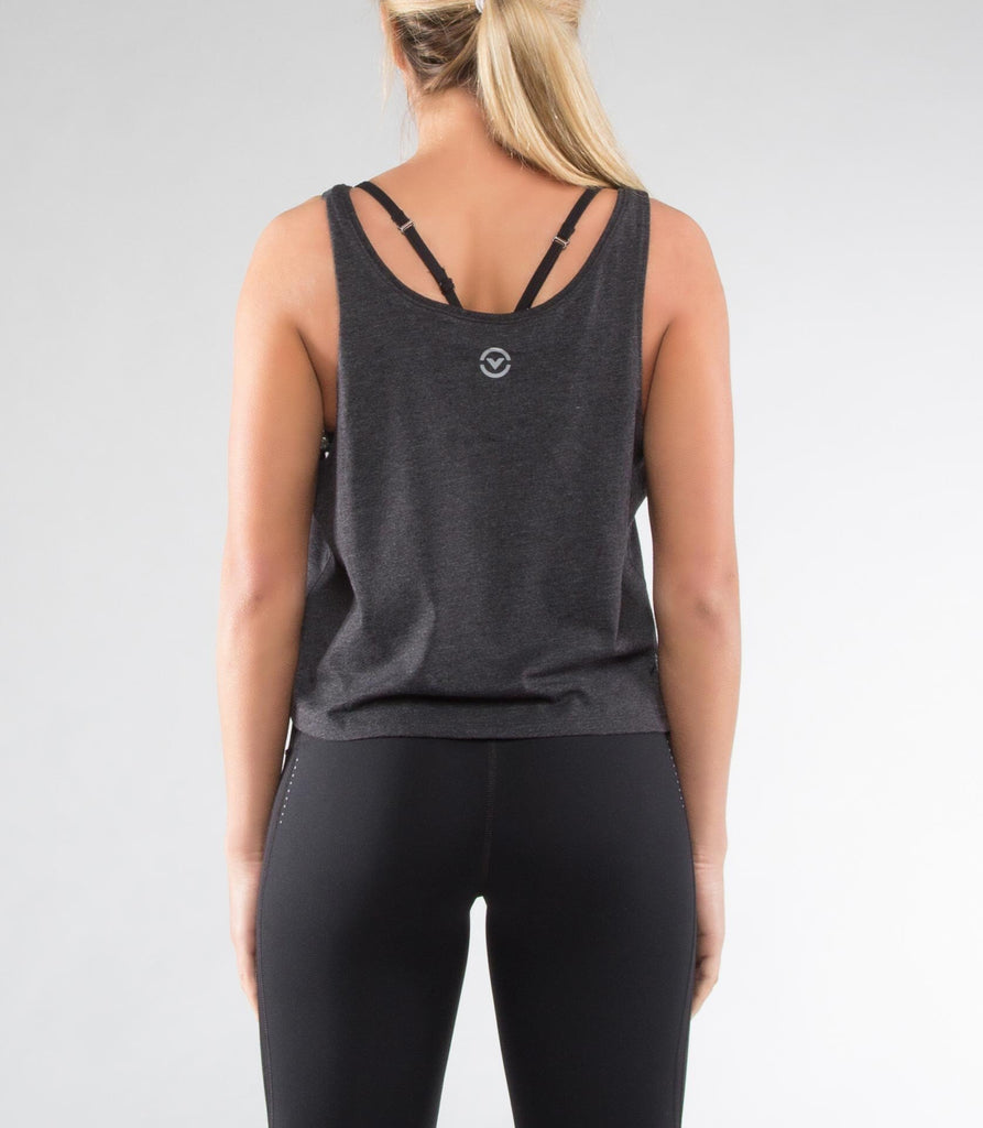 WOMEN'S KNIGHT PREMIUM CUSTOM CROP TANK (WPC18)