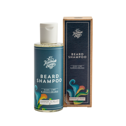 Beard Shampoo - Basil, Lime and Sweet Orange