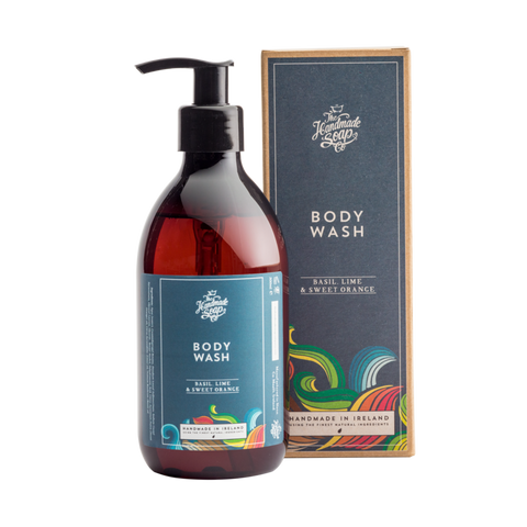 Men's Hair and Body Wash - Basil, Lime and Sweet Orange