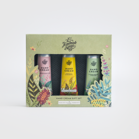 Handmade Soap Company Hand Cream Gift Set