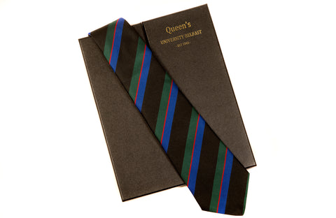 Graduate Colours Silk Tie