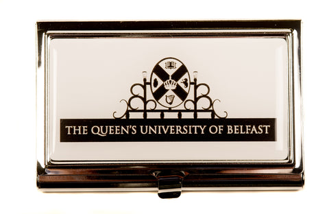 Queen's Front Gate Motif Business Card Holder