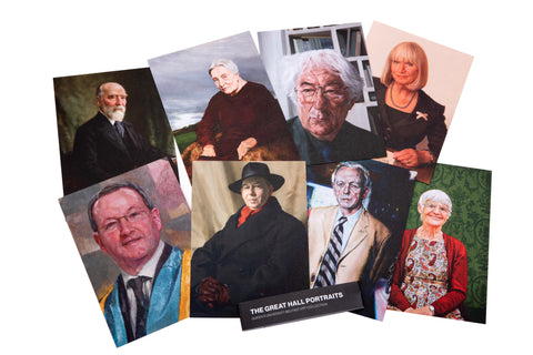 Great Hall Portraits Collection Postcard Set