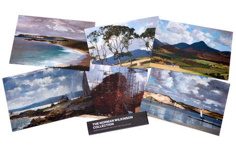 Norman Wilkinson Collection Postcard Set