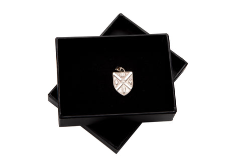 Sterling Silver Crest Charm