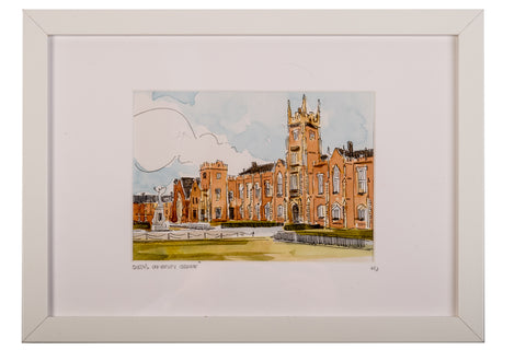 Mark Graham Framed Watercolour