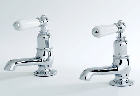 Traditional Basin Pillar Taps